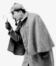 Sherlock Holmes Met Loep